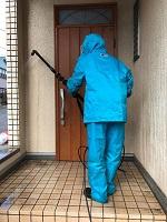 高圧洗浄 玄関
